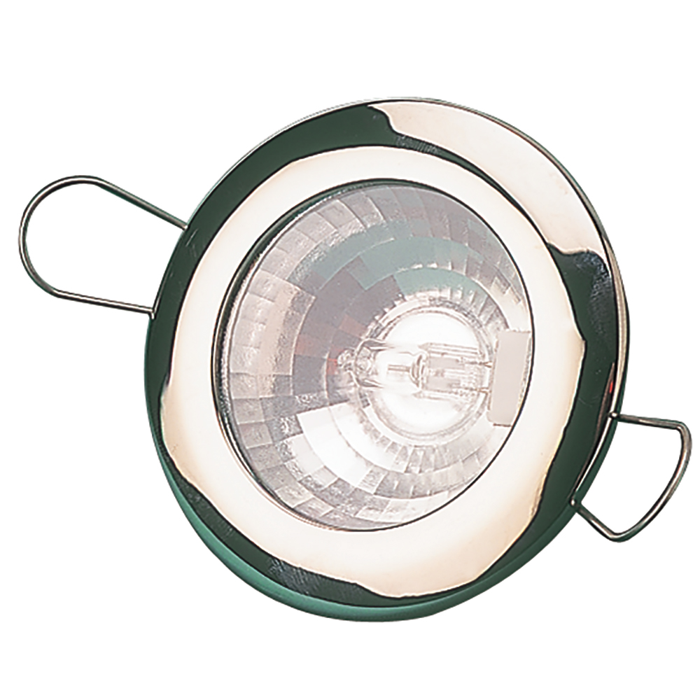 """Sea-Dog LED Overhead Light 2-7/16"""" - Brushed Finish - 60 Lumens - Clear Lens - Stamped 304 Stainless Steel"""