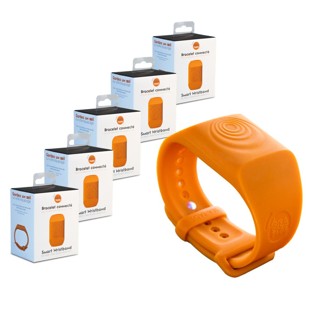 Sea-Tags MOB Smart Wristband - 5-Pack