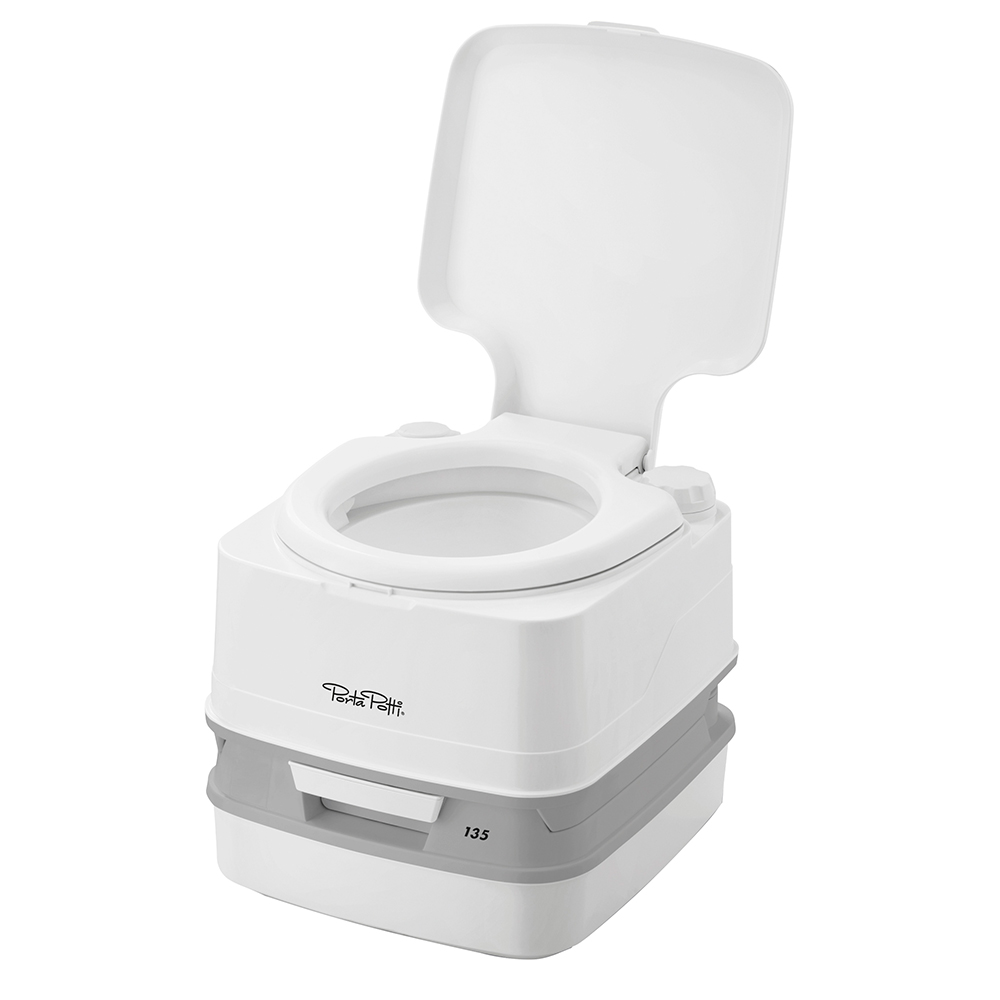Thetford Porta Potti 135 Marine Toilet w/Hold Down Kit
