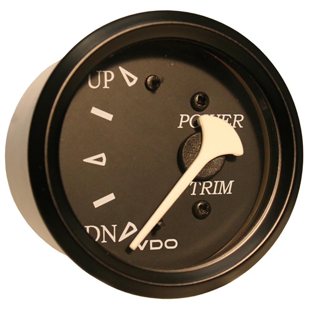 VDO Allentare Black Trim Gauge - For Use w/Evinrude/Johnson Engines
