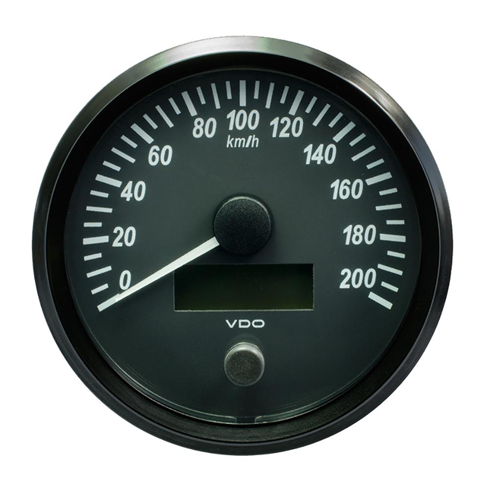 """VDO SingleViu 100mm (4"""") Speedometer - 140 MPH"""