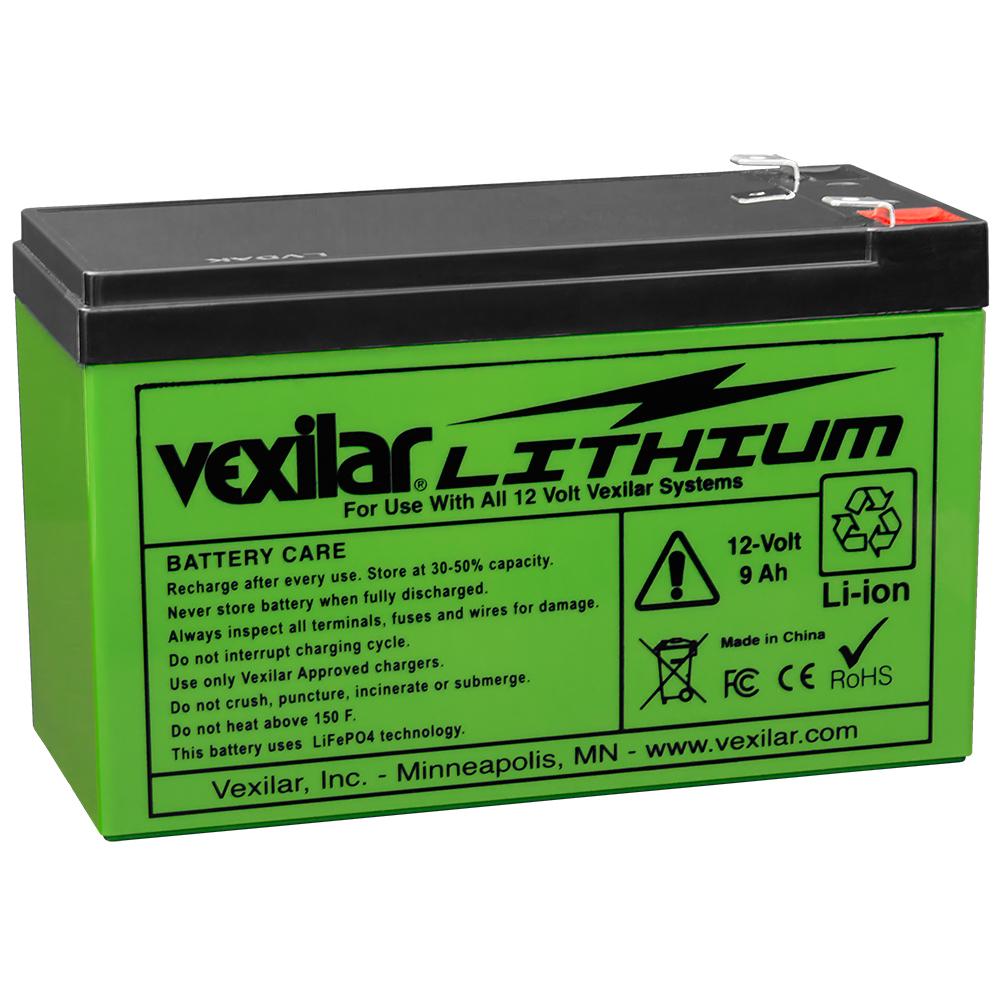 Vexilar 12V Lithium Ion Battery