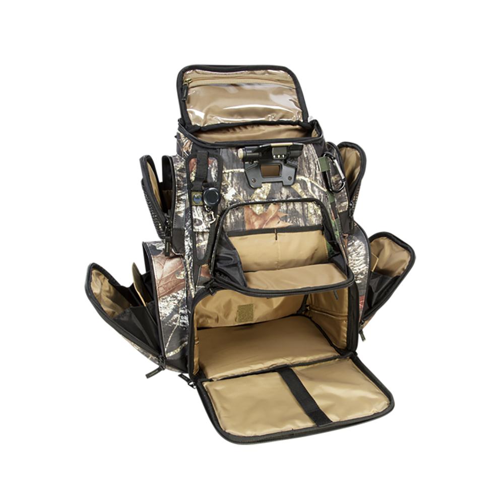 Wild River NOMAD Mossy Oak Tackle Tek Lighted Backpack w/o Trays